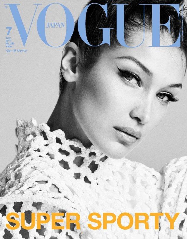 Vogue Japan July 2019: Bella Hadid by Luigi & Iango