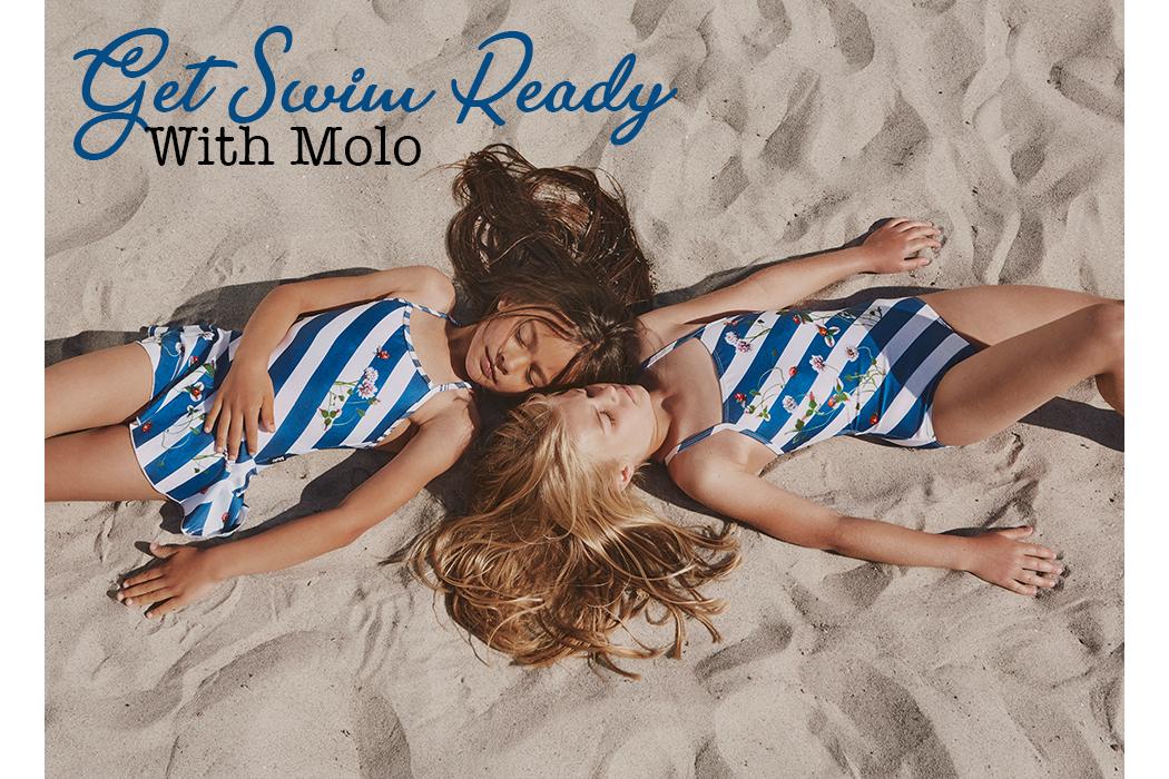 Get ready to swim with Molo