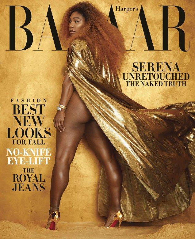 US Harper's Bazaar August 2019: Serena Williams by Alexi Lubomirski