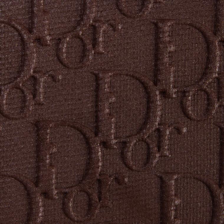Dior Matte Eye Shadow Smoky Brown Backstage
