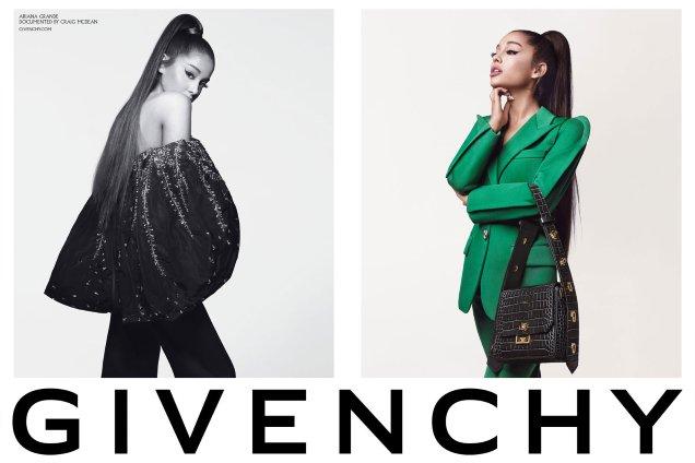 Givenchy F / W 2019.20: Craig McDean's Ariana Grande