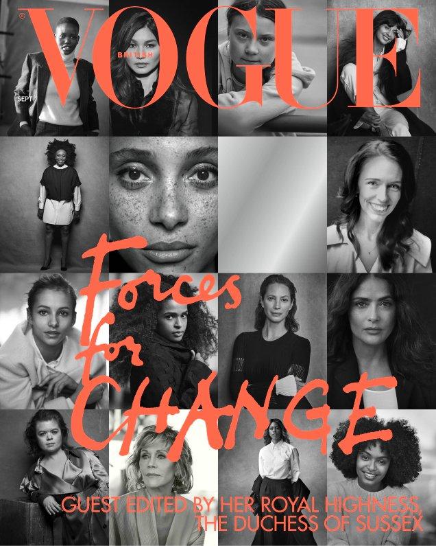 British Vogue September 2019: Peter Lindbergh's Forces of Change