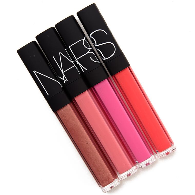Set of 4 NARS Hot Tropic Lip Glosses