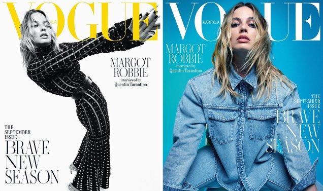 Vogue Australia September 2019: Margot Robbie by Mario Sorrenti