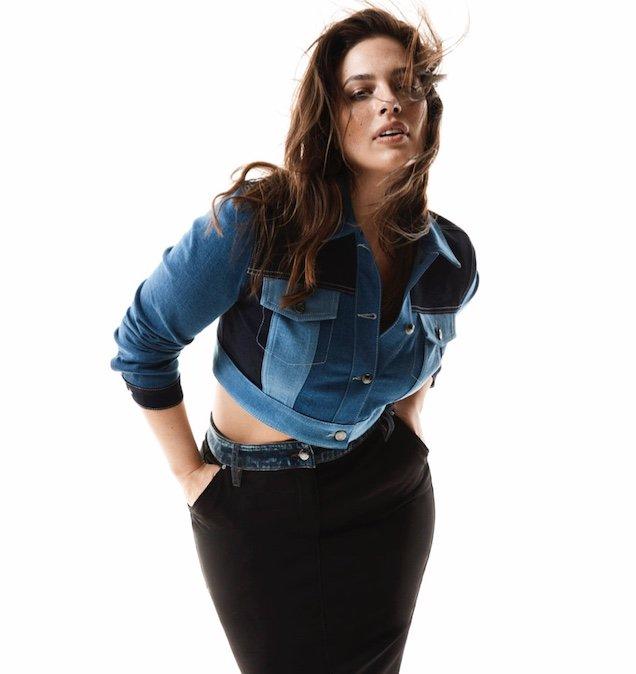 Ashley Graham for Marina Rinaldi Fall 2019