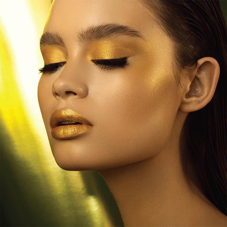 Natasha Denona Mini Glow Gold and Gold Pallets for the holidays 2019