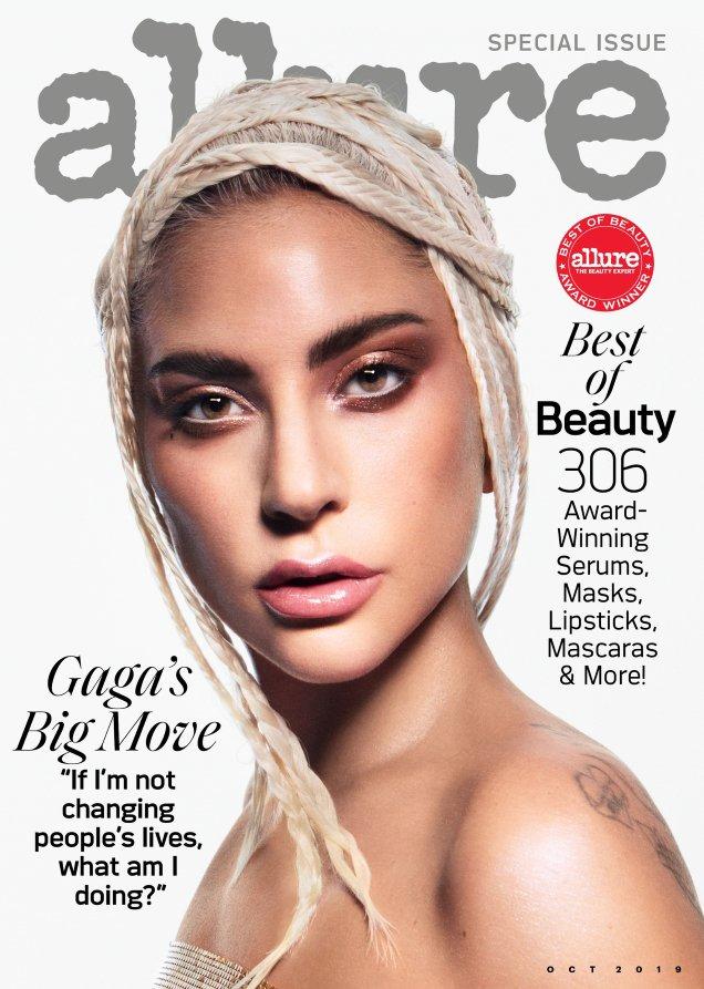 Allure October 2019: Lady Gaga by Daniel Jackson