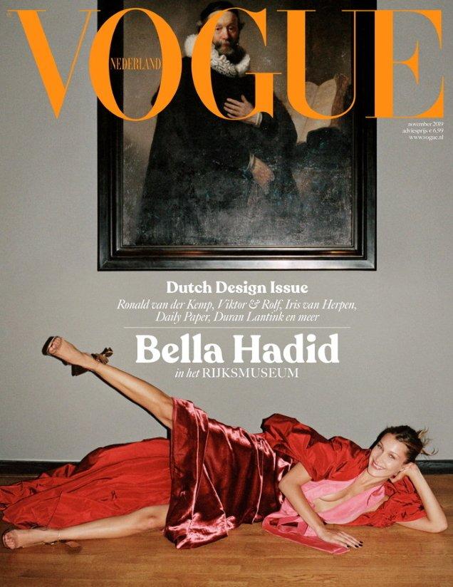 Vogue Netherlands, November 2019: Bella Hadid by Sean Thomas