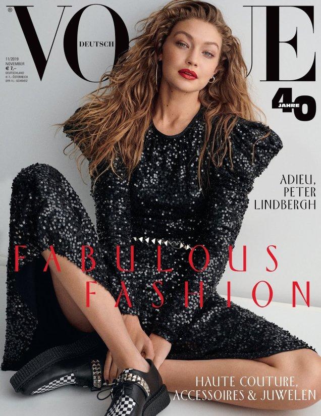 Vogue Germany November 2019: Gigi Hadid by Giampaolo Sgura