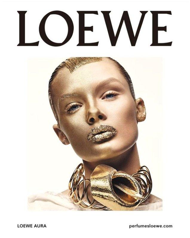Loewe & # 39; Aura & # 39; Fragrance 2019: Craig McDean's Kris Grikaite