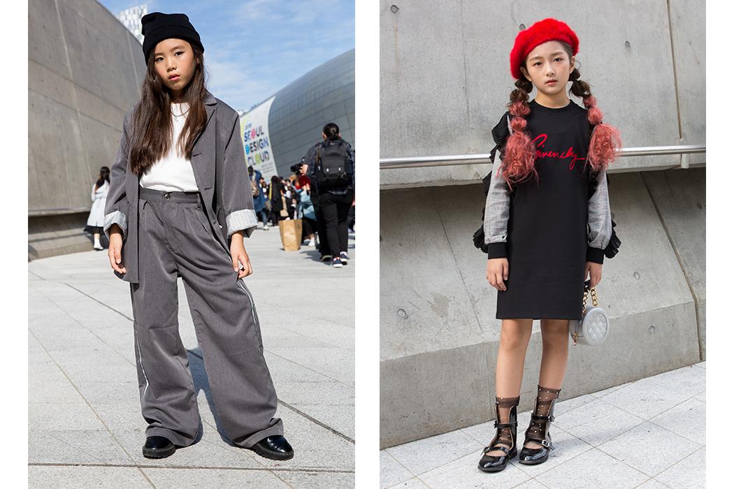 Street Style at Seoul Fashion Week #streetstyle #kidsfashion #seoulfashionweek