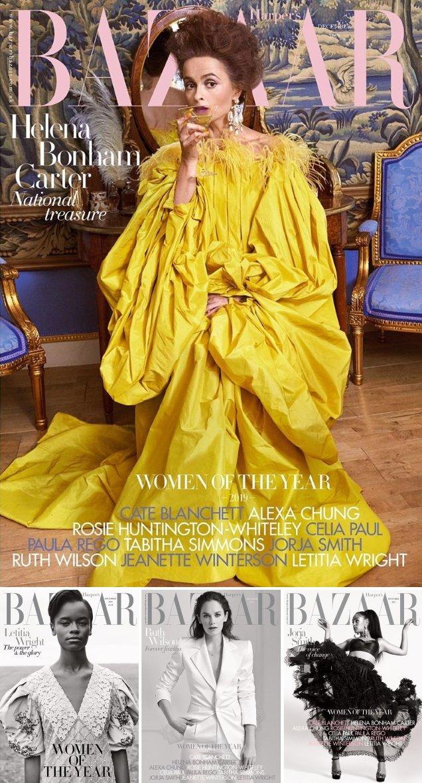 United Kingdom Harper's Bazaar, December 2019: the number of women of the year