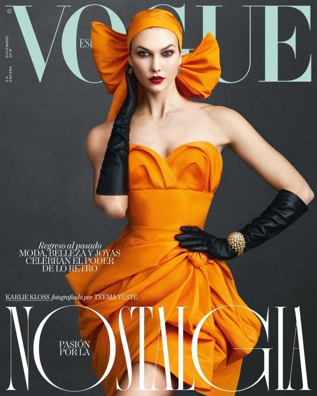 Vogue España December 2019: Karlie Kloss by Txema Yeste