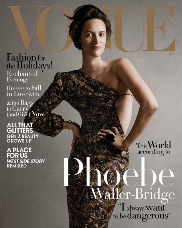 Vogue US December 2019: Phoebe Waller-Bridge by Ethan James Green