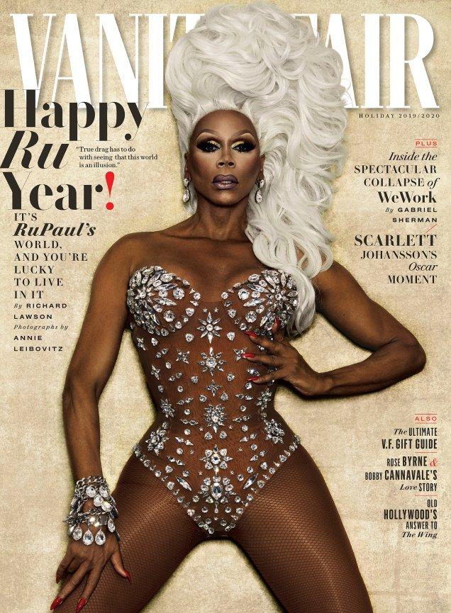 Vanity Fair Holiday 2019: RuPaul by Annie Leibovitz