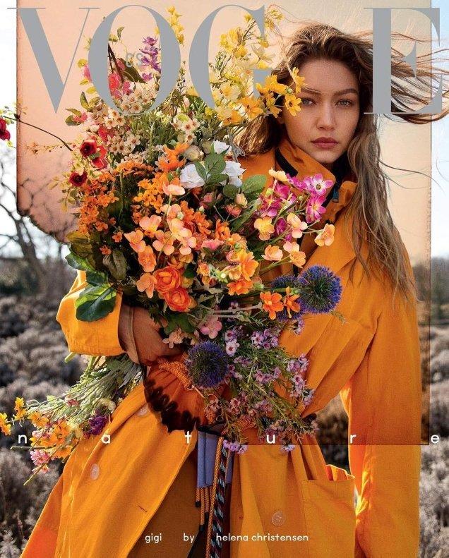 Vogue Czechoslovakia May 2019: Gigi Hadid by Helena Christensen