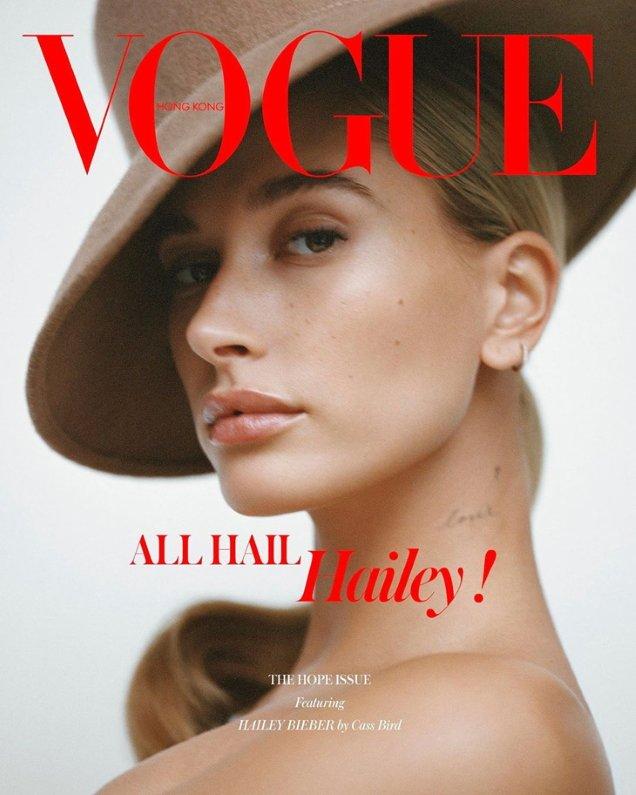 Vogue Hong Kong December 2019: Hailey Bieber by Cass Bird