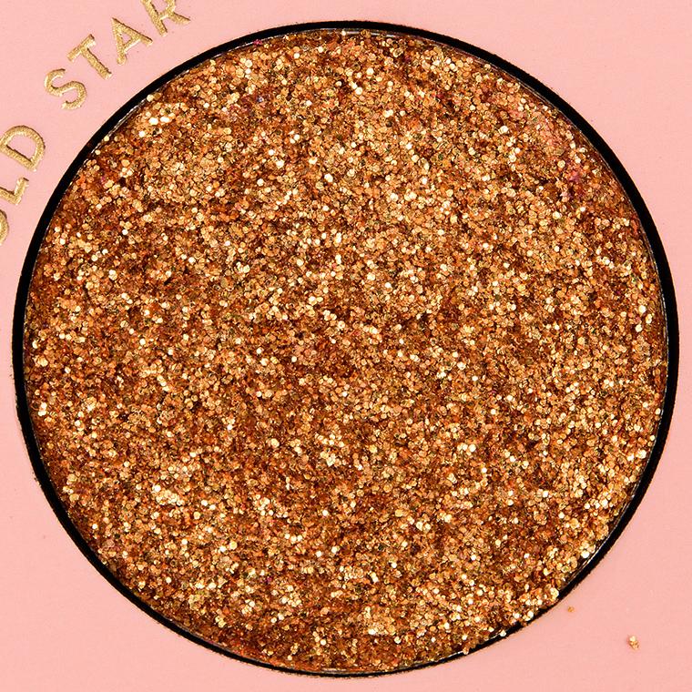 Color Pop Gold Star Pressed Glitter