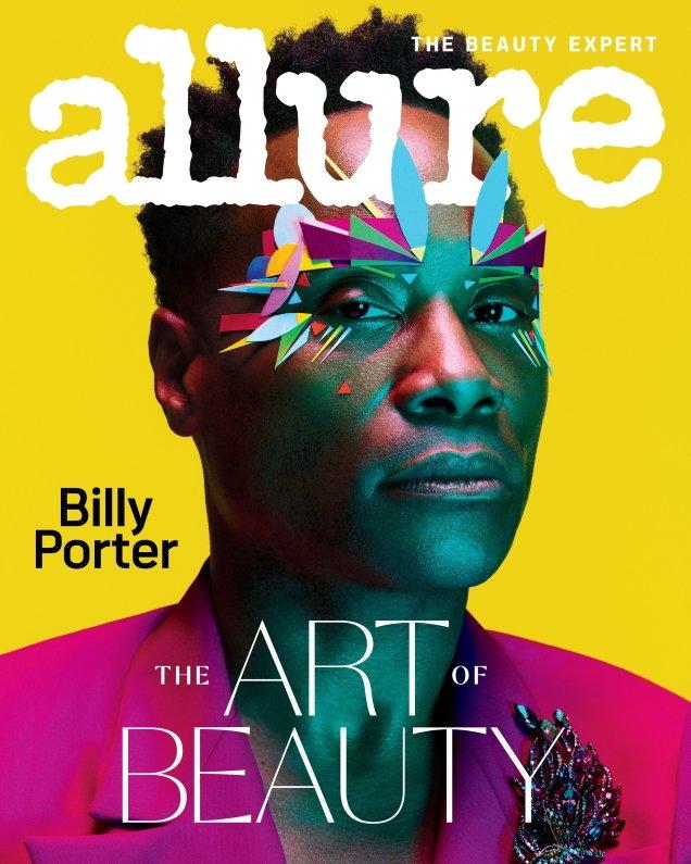 Allure February 2020: Billy Porter by Ben Hassett