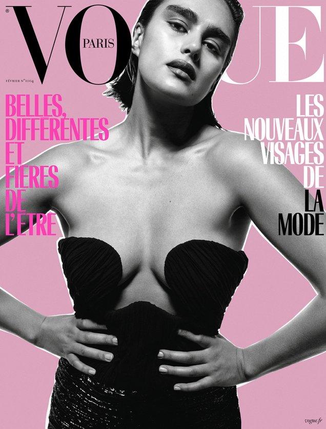 Vogue Paris February 2020: Jill Kortleve by Inez van Lamsweerde & Vinoodh Matadin