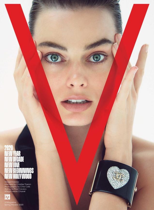 V Magazine # 123 Spring Preview 2020: Margot Robbie by Chris Colls