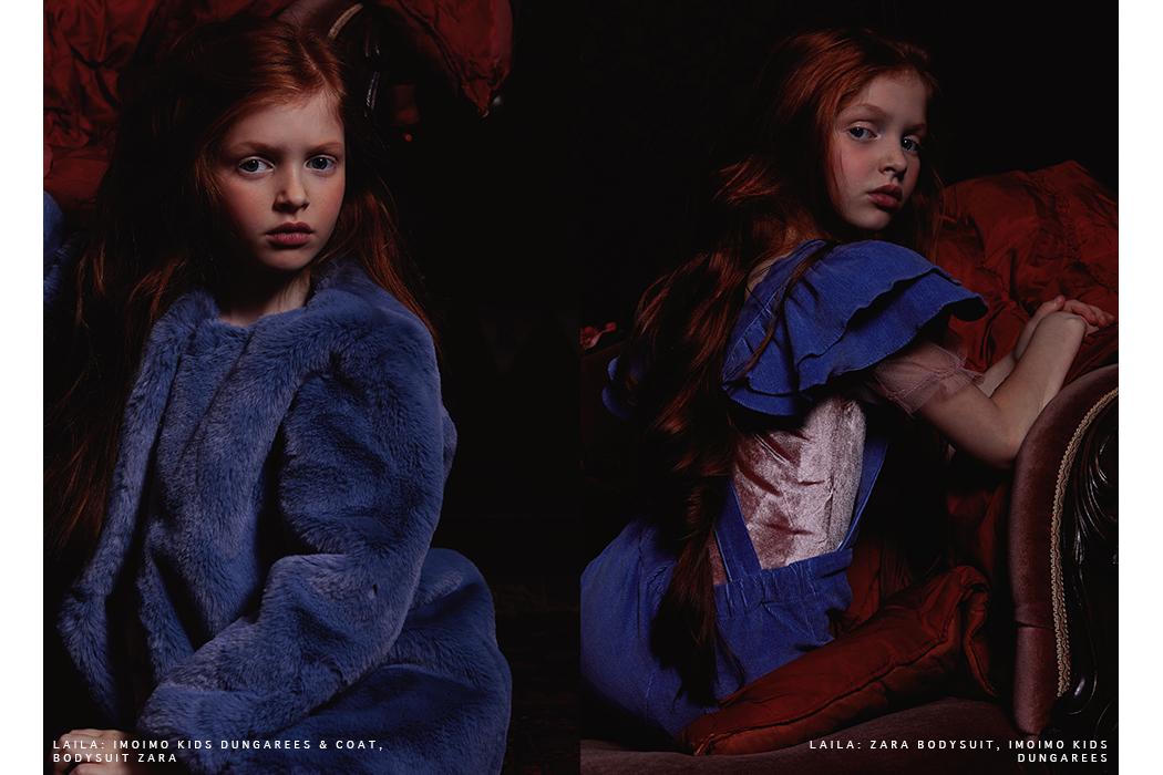 Editorial: Renaissance Girls with the children's clothing brand Imoimo for girls. Korean fashion brand for girls. #imoimokids #kidsfashion #ministyle
