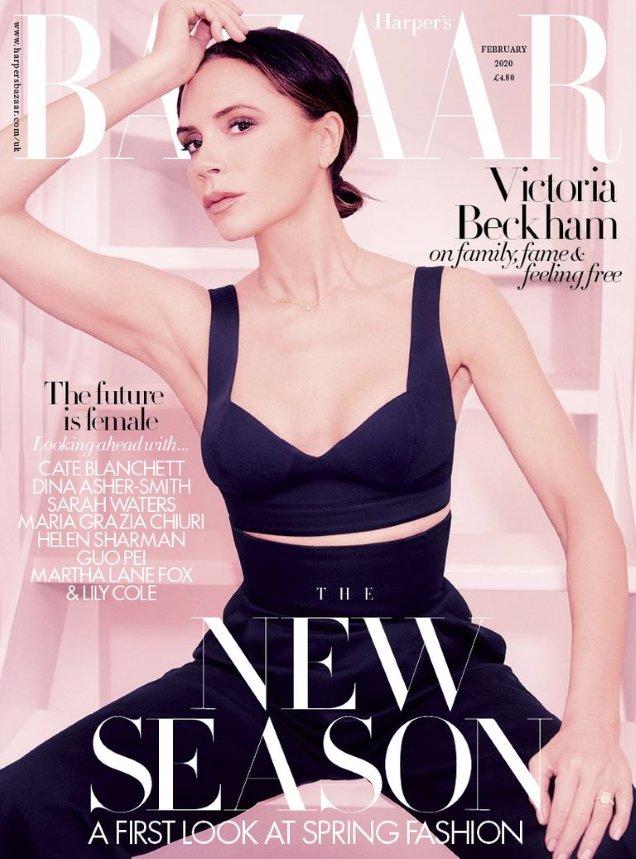 UK Harper's Bazaar February 2020: Victoria Beckham by Ellen Von Unwerth