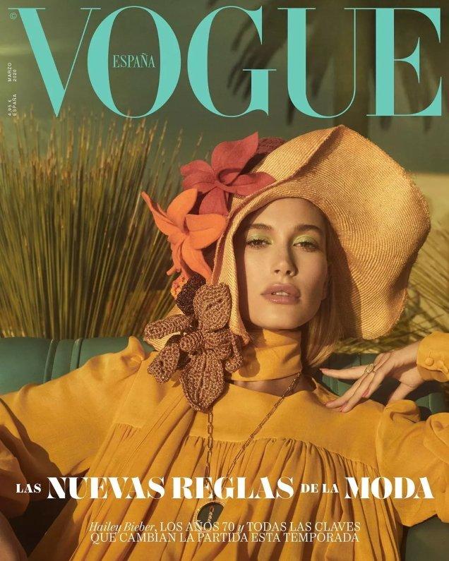 Vogue España March 2020: Hailey Bieber by Emma Summerton