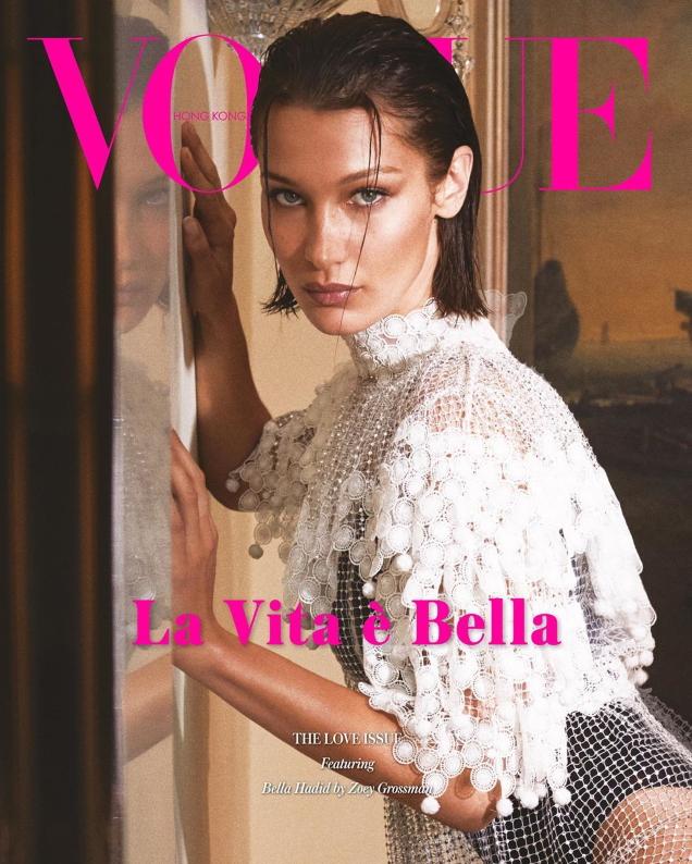 Vogue Hong Kong February 2020: Bella Hadid by Zoey Grossman