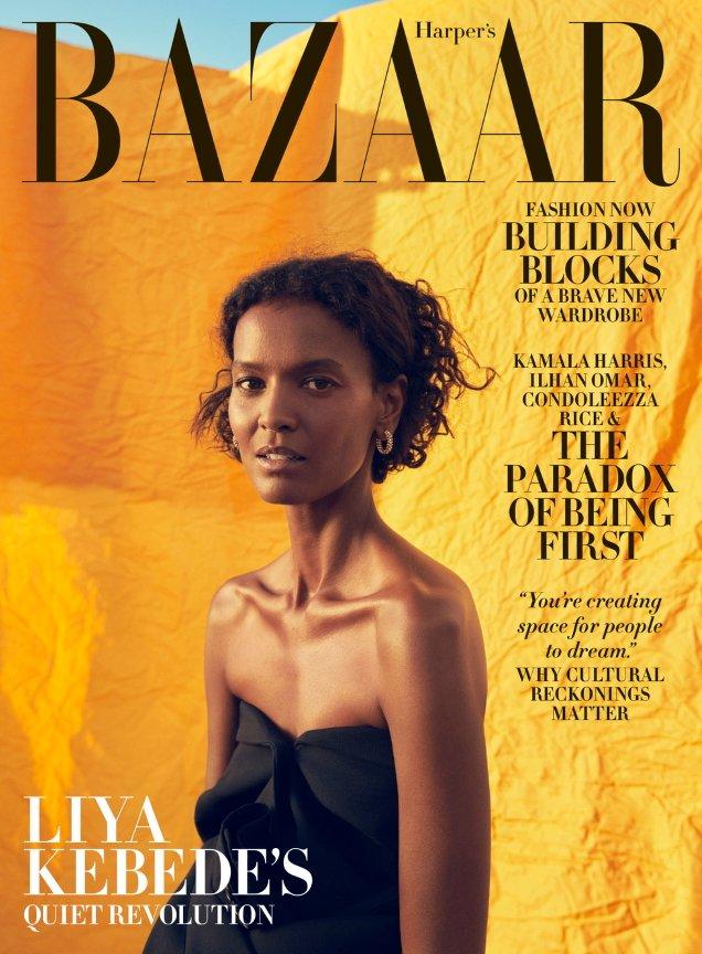 US Harper's Bazaar November 2020: Liya Kebede by Christopher Anderson