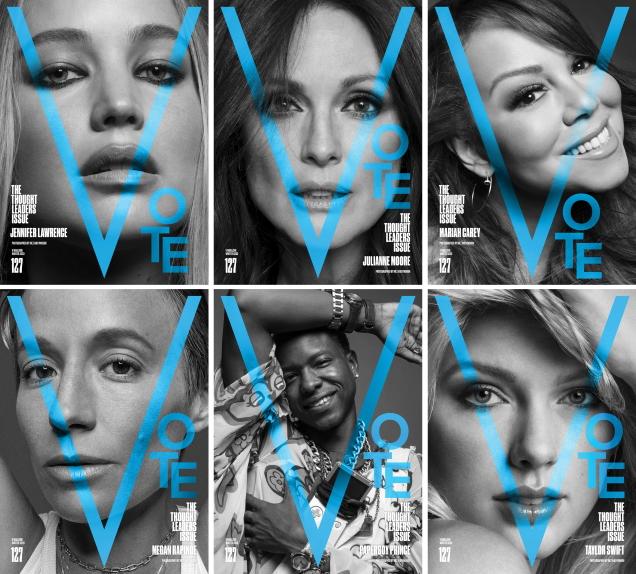 V Magazine # 127 Winter 2020 by Inez van Lamsweerde & Vinoodh Matadin