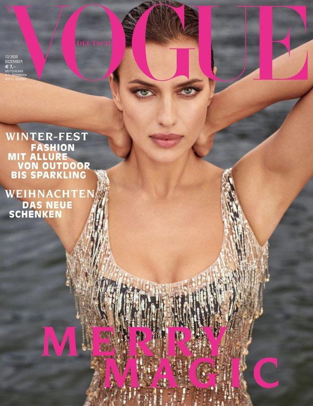 Vogue Germany December 2020: Irina Shayk by Luigi & Iango